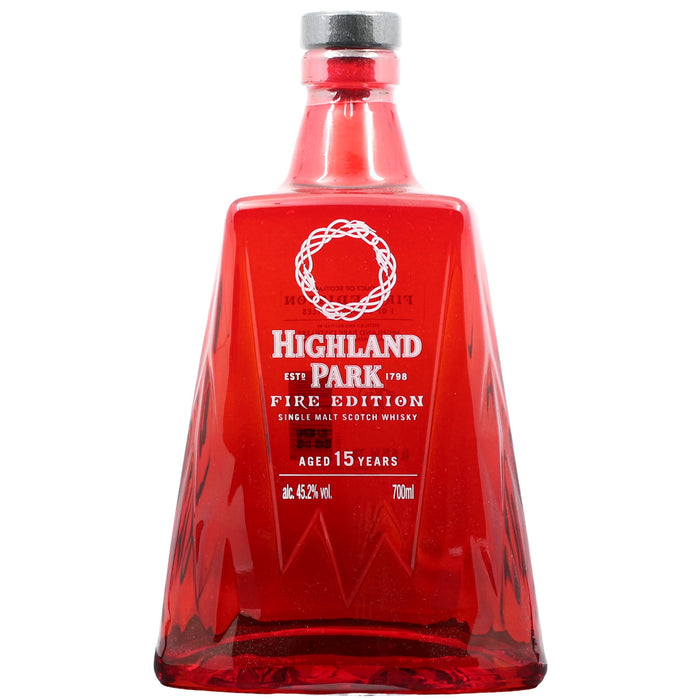 Highland Park 'Fire' 15 Years Single Malt Whisky
