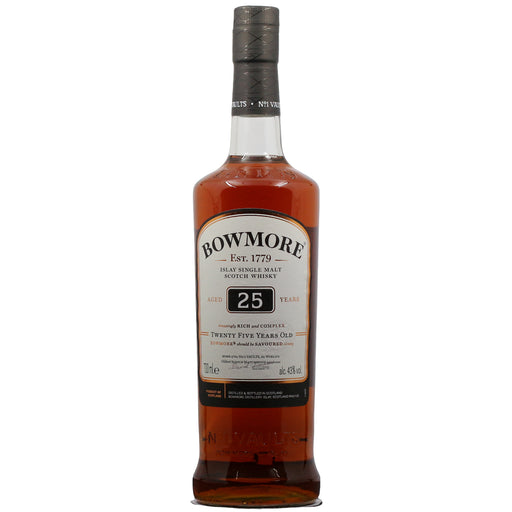 Bowmore Small Batch 25 Year Single Malt Whisky
