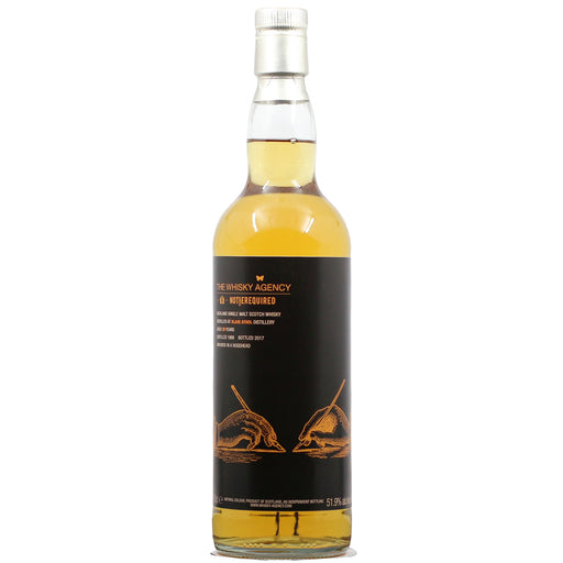 1988 The Whisky Agency x Notierquired Blair Athol 29 Years Single Cask
