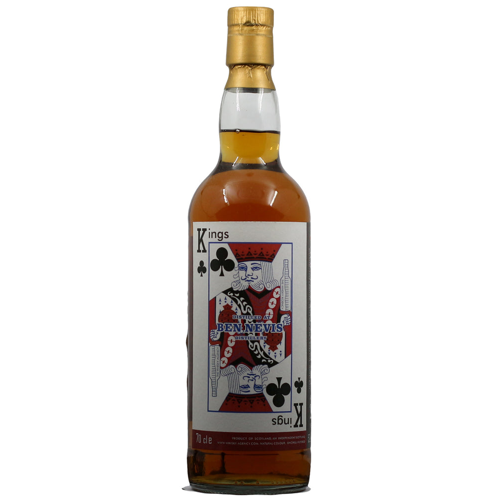 1996 The Whisky Agency King's Wine Cellar BenNevis 21 Years Sherry