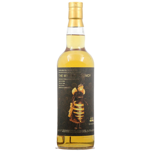 1999 The Whisky Agency 10th Anniversary Highland Park 18 Years Single Malt Scotch Whisky