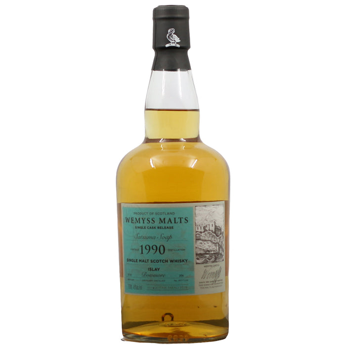 1990 Wemyss Malt Satsuma Saop Bowmore 28 Year Old Single Malt