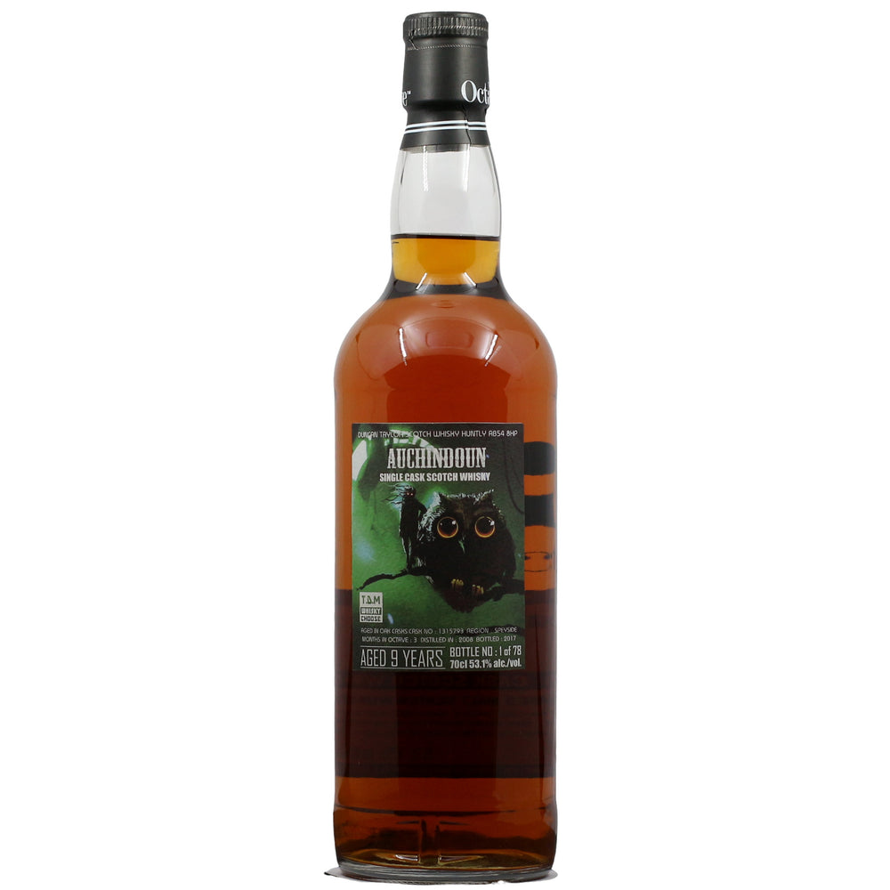 Duncan Taylay Octave Auchindoun 9 Years Single Cask Whisky