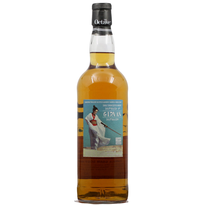 2007 Duncan Taylor Octave Girvan 10 Year Single Grain Single Cask Whisky
