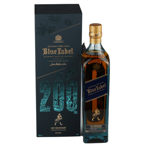 Johnnie Walker Blue Label Blended Whisky 200th Limited Edition