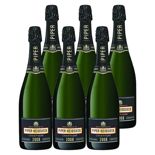 2008 Piper-Heidsieck Vintage - Pack of 6