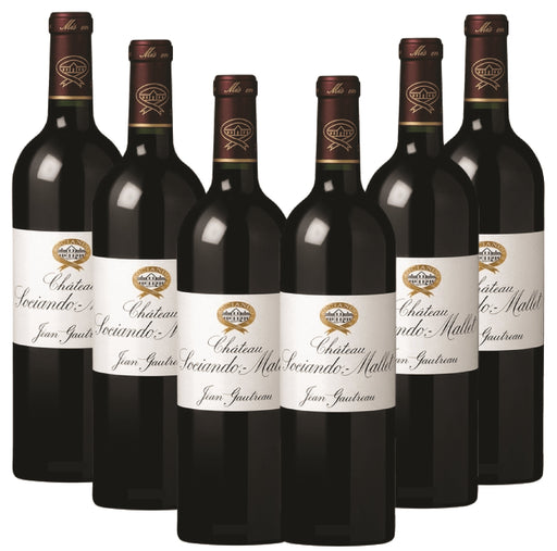 2012 Chateau Sociando Mallet - Pack of 6