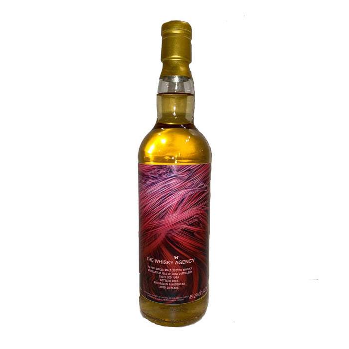 1998 The Whisky Agency x Isle of Jura 20 Years Single Cask 1998 49.2%