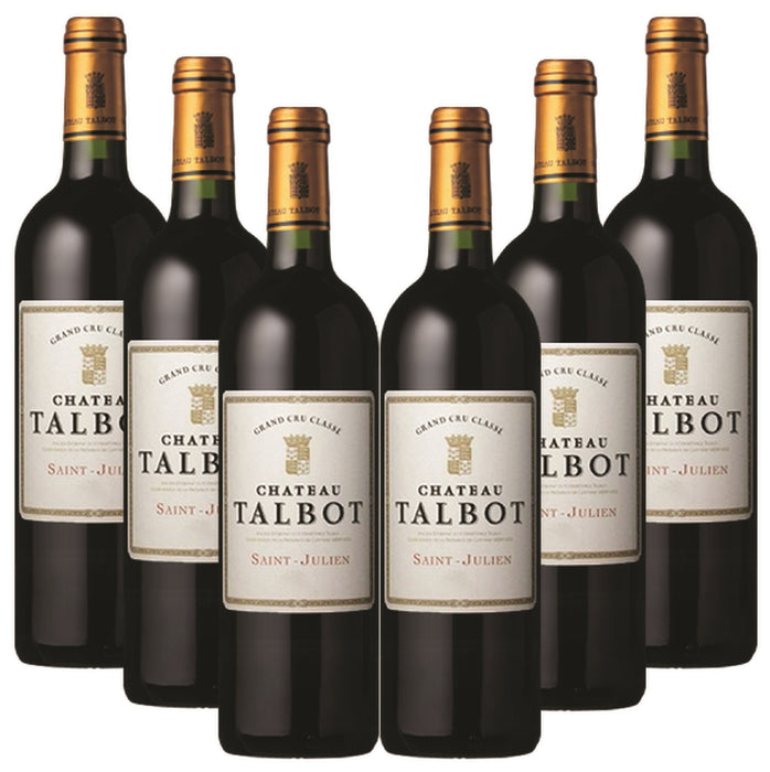 2017 Chateau Talbot - Pack of 6
