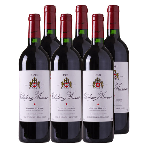 1998 Chateau Musar - Pack of 6