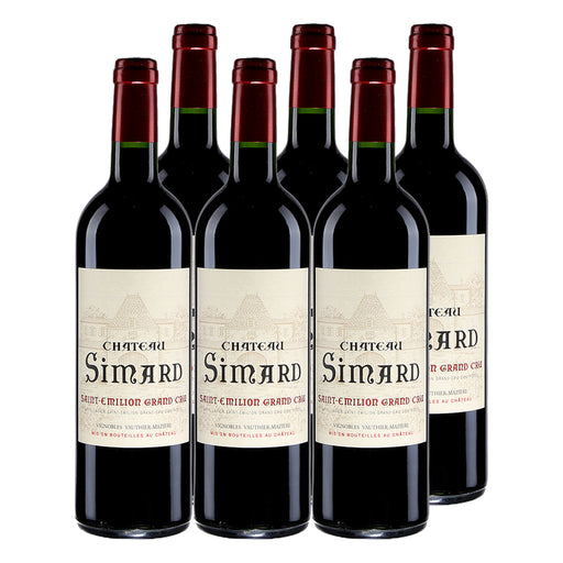 2011 Chateau Simard Saint Emillion Grand Cru - Pack of 6