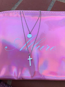 Faith Double Necklace