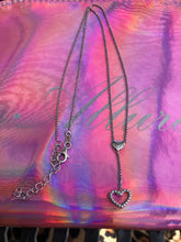 Load image into Gallery viewer, Queen of Hearts Y Necklace