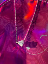 Load image into Gallery viewer, Princess Heart CZ Pendant