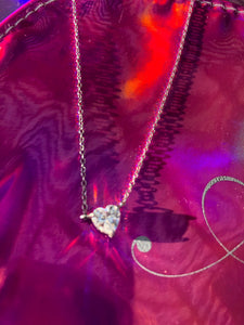 Princess Heart CZ Pendant