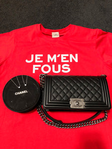 Je M'en Fous French T-Shirt