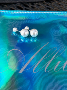 Tribal Cultured Pearl Earrings