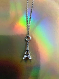 Mini Eiffel Tower Necklace