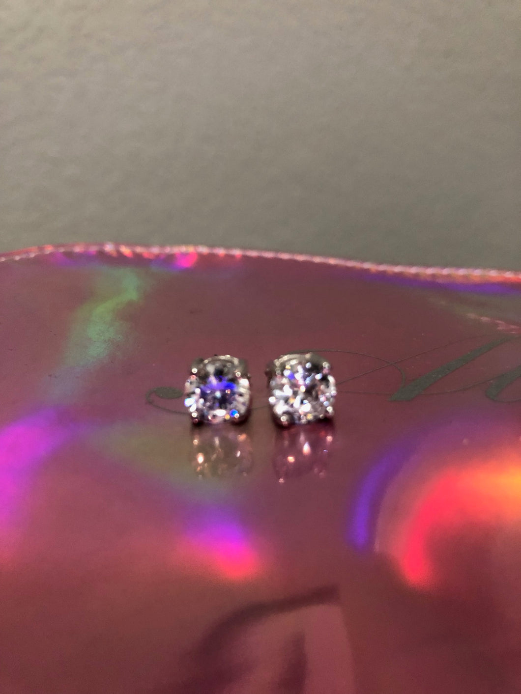 Allure 2 Carat CZ Stud Earrings