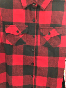 Burnside Mens Flannel Shirt