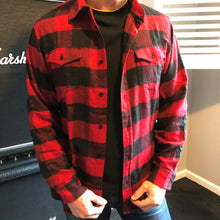 Load image into Gallery viewer, Burnside Mens Flannel Shirt