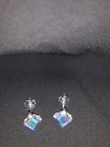 Unicorn Ice Cube Earrings