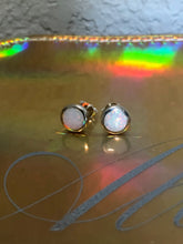 Load image into Gallery viewer, Fiery Opal Earrings