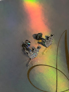 Majesty Crown Earrings