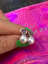 Load image into Gallery viewer, Mystic Pearl Earrings