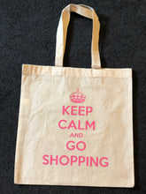 Load image into Gallery viewer, Keep Calm Shopping Tote