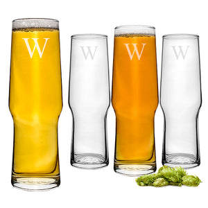 Personalized Craft Beer Pilsners(Set of 4)