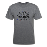 Merica T-Shirt - mineral charcoal gray