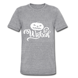 Wicked Unisex Tri-Blend T-Shirt - heather gray