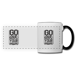 Panoramic Mug - white/black