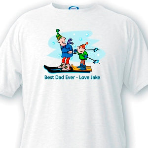 Best Dad Ever  Dad T-shirts