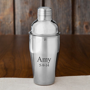 Personalized Cocktail Shaker (20 oz.)
