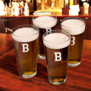 Collegiate Icon Pub Glasses (Set Of Four)