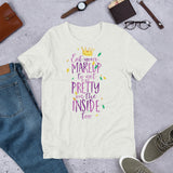 Eat your makeup to get pretty inside too Short-Sleeve Unisex T-Shirt