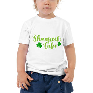 Shamrock Cutie Toddler Short Sleeve Tee