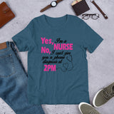 Yes I am a Nurse Unisex T-Shirt