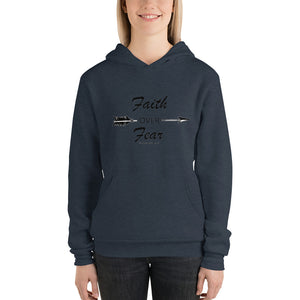 Faith over Fear unisex hoodie