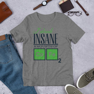I drink insane amounts of Coffee 2 Short-Sleeve Unisex T-Shirt
