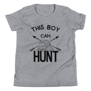 This Boy Can Hunt Youth Short Sleeve T-Shirt