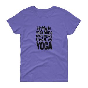 Yoga Pants unisex short sleeve t-shirt