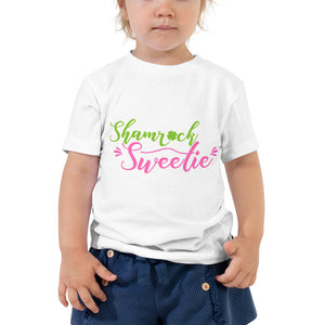 Shamrock Sweetie Toddler Short Sleeve Tee