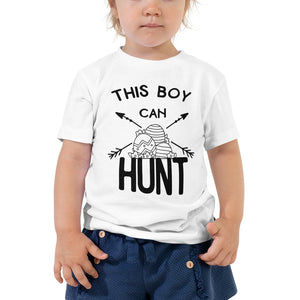 This Boy Can Hunt Toddler Short Sleeve Tee