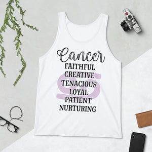 Cancer Unisex  Tank Top