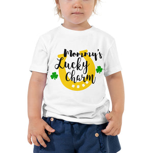 Mommy's Lucky Charm Toddler Short Sleeve Tee
