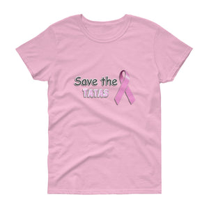 Save the Tatas unisex short sleeve t-shirt