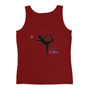 Yoga & Wine Ladies Tank